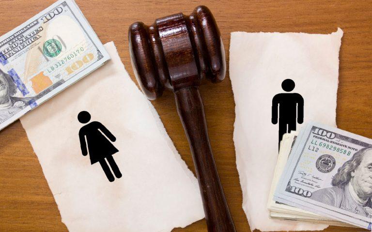 как поделить участок при разводе