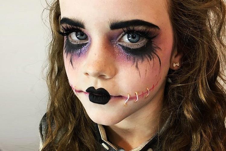 Грим на Хэллоуин для детей